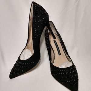 NWOB French Connection Elmyra Studded Heels
